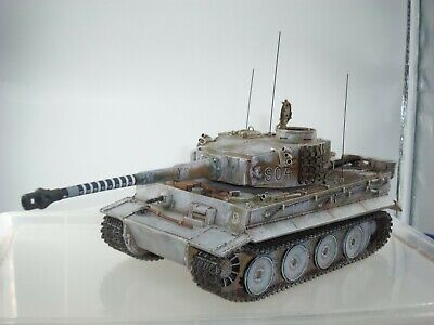 King And Country Ws344 German Army Michael Wittman's Winter Command Tiger Tank  • 399.99£