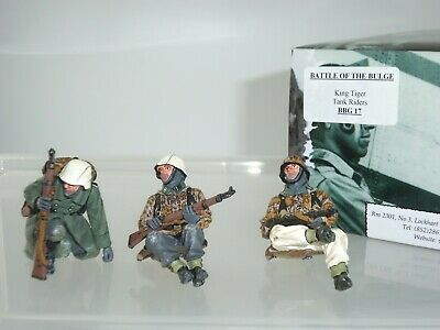 King And Country Bbg017 German King Tiger Tank Riders Ww2 Toy Soldier Set • 179.99£