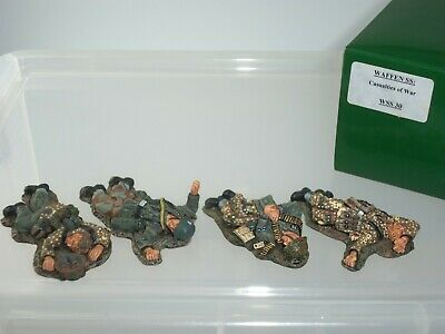 King And Country Ws030 German Dead Casualties Of War Metal Toy Soldier Set • 249.99£