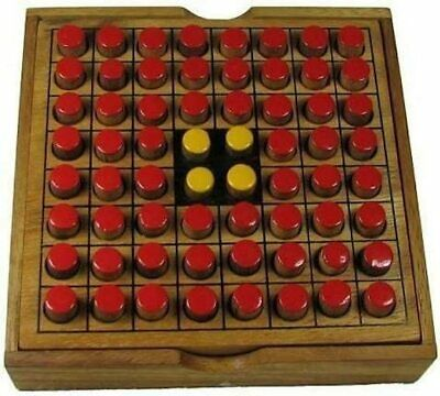 Windhorse Othello Wooden Puzzle Board Game • 11.22£