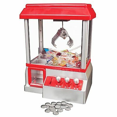 Candy Grabber Machine Toy Claw Game Kids Fun Crane Sweet Grab Gadget Arcade • 19.99£