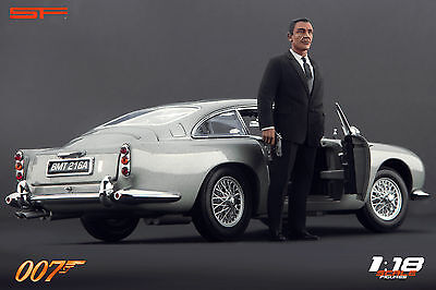 1:18 James Bond 007 Sean Connery VERY RARE!!! NO CARS !! For Aston Martin By SF • 66.77£