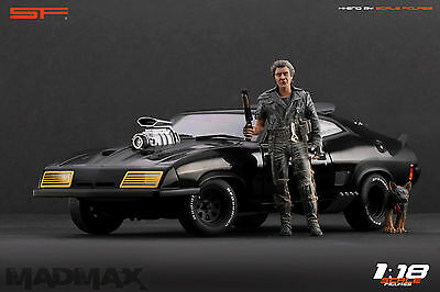 1:18 Mad Max VERY RARE!!! Figurine NO CARS !! For Ford Falcon Diecast By SF • 66.77£