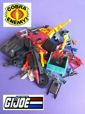 G I Joe Action Force COBRA Vehicle Play Set Parts And Missiles. MULTI LISTING   • 2.49£