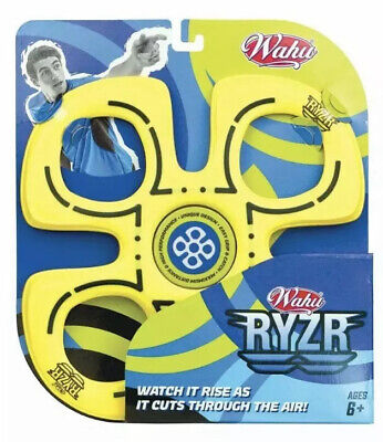 Wahu Ryzr - Yellow - Outdoor Beach Flying Disc • 9.99£