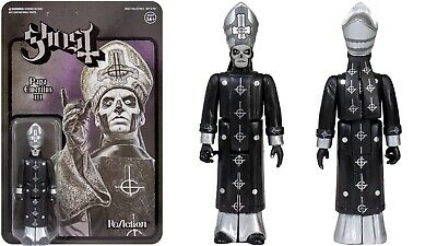 Super 7 Ghost ReAction Figure - Papa Emeritus III ( Black Series ) • 24.99£