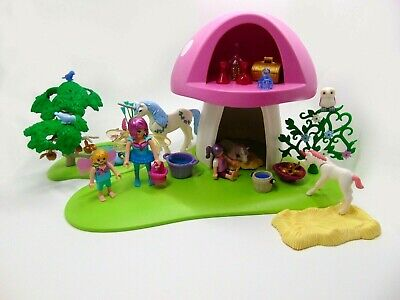 PLAYMOBIL 6055 Fairies With Toadstool House  • 17.95£