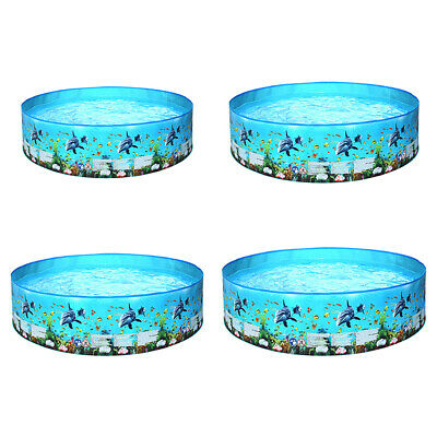 PVC Baby Kids Inflatable Safety Children Bathing Pool Round Swimming Pool • 27.49£