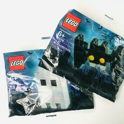 Lego Spooky Halloween BAT & GHOST 40013 & 40014 NEW Sealed Polybag RARE Poly Bag • 8.95£