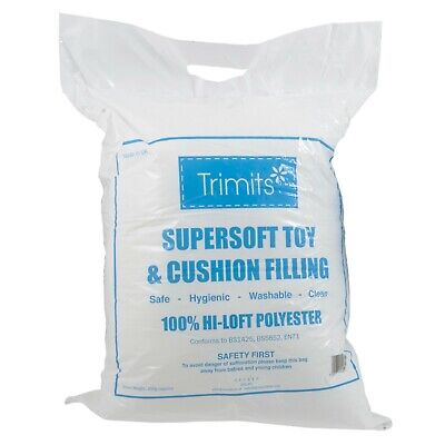 SuperSoft Toy Filling For Soft Toy Stuffing Craft & Hobby Work, Cushions 18litre • 7£