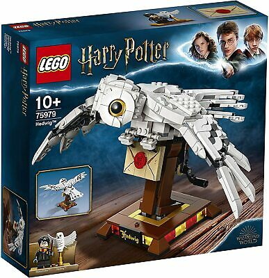 LEGO 75979 Harry Potter Hedwig The Owl Figure Collectible Display Model With Mov • 24.90£