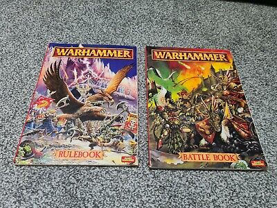 Fantasy Rulebook And Battle Book 5th Edition - Games Workshop, Warhammer Fantasy • 20£