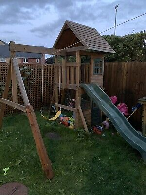 Kids Play House Outdoor Wooden • 51£