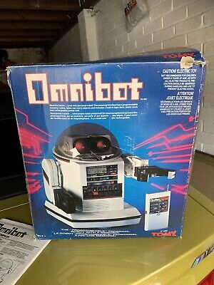 Tomy Omnibot 5402 - 1980s - With Box • 100£