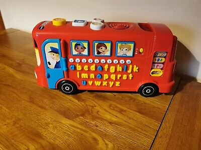 Vtech Playtime Bus With Phonics • 3.50£