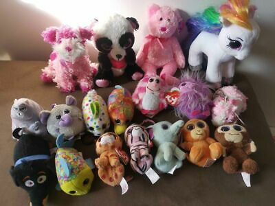 Ty Beanie Boo Sparkle Eyes And Ty Soft Toys • 20£