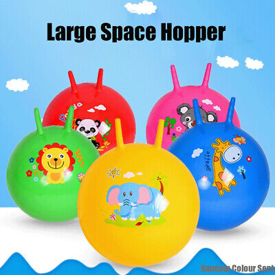 UK Large Space Hopper Inflatable Kids Outdoor Indoor Jumping Bounce Playing Ball • 5.55£