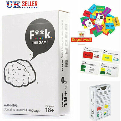 Funny Adult Party Table Game Cards Games F** K The Game Cards UK • 7.39£