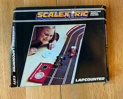 Classic Scalextric Lap Counter C277 Boxed In Good Working Condition • 10£
