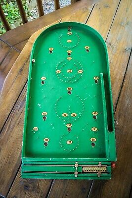 Vintage - 1960s Bagatelle Board Game - Chad Valley Works - Retro Toys • 39.99£