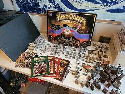 HeroQuest Advanced Quest Edition With Expansions And Extras • 102£