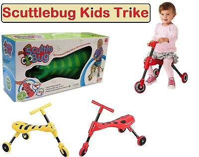 Kids/Children's Scuttle Bug Scuttlebug Ride On Toy Bumble & Beetle Design • 31.99£