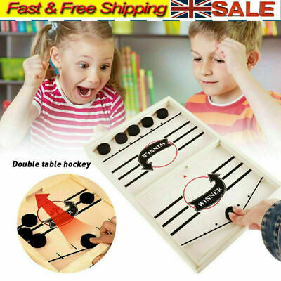 Family Games Table Hockey Game Catapult Chess Parent-child Interactive Toy UK • 9.99£