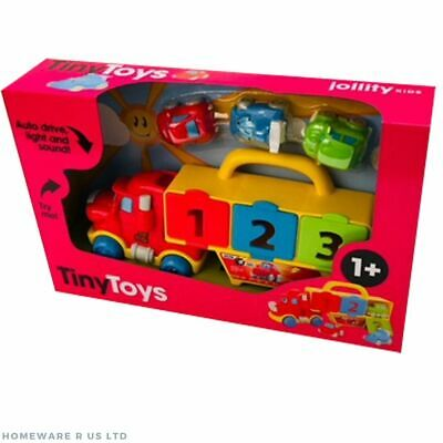 Baby Toddler Boys Tommy Transporter And Friends Toy 1+ Years Lights & Sounds • 19.99£