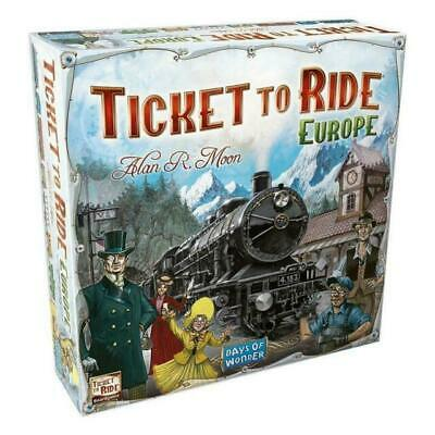 Ticket To Ride: Europe - Days Of Wonder 2-5 Player Board Game - NEW & SEALED • 19.99£