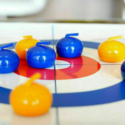 Family Curling Table Game Adult Training Kids Tabletop Ball Game Fun Toy UK STO • 9.99£