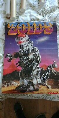 Zoids Poster - Tomy - UK - Late 1980's • 10£
