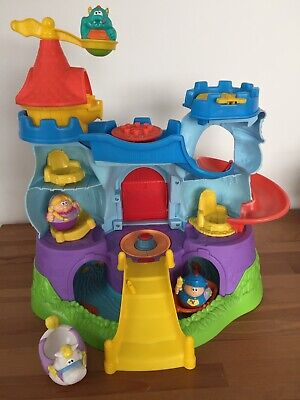 Hasbro Playskool Weebles Weebalot Castle Playset With Accessories And Story Book • 26.99£