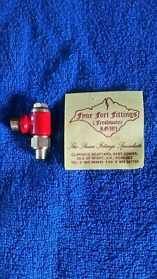 Live Steam Water Check Valve 3/8 X 26 Fyne Fort Fittings NOS  • 12.75£