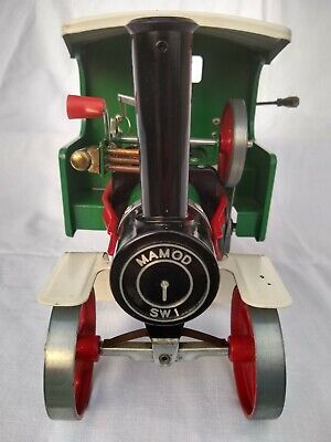 Mamod Live Steam Wagon - Sw1 - Superb Original Vintage Condition - Good Runner. • 185£
