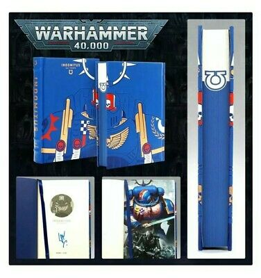 Indomitus ULTRAMARINES: Limited Edition Signed Book Novel Warhammer 40k  • 45.99£