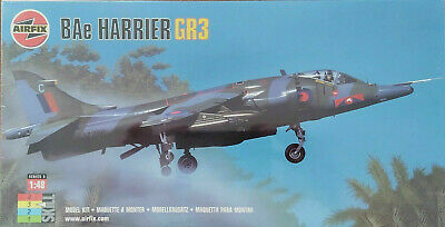 Airfix 1/48 BAe Harrier GR3 RAF Model Kit • 24.95£