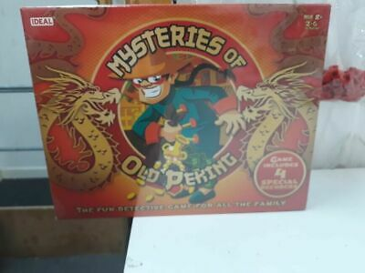 Mysteries Of Old Peking Game,New And Sealed • 19.99£