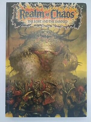 *Original* Realm Of Chaos Lost And The Damned 1990 1st Edition Warhammer • 54.95£