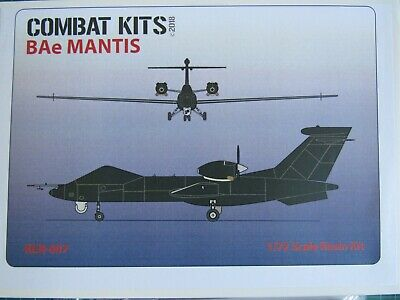 Combat Kits BAe Mantis UAV 1/72 Scale Resin Kit  • 35£