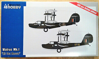 Special Hobby, 1:48, V.S. Walrus Mk.I  Air Sea Rescue  (48163) Brand New. • 26£