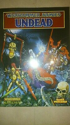 Warhammer Armies - Undead Army Book - Games Workshop - OOP 1994 - Fantasy Battle • 10£