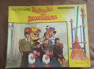 Vintage Bedknobs And Broomsticks - 150pc Jigsaw Puzzle - 100% Complete. • 3£