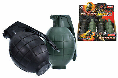 Plastic Toy War Mission Soldier Troops Army Hand Grenades Replica Light & Sound • 5.99£