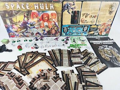 SPACE HULK 1st Edition Board Game Painted [ENG,1989]  • 109.95£