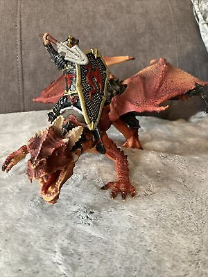 Rare Schleich Large Dragon And Rider Toy • 15£