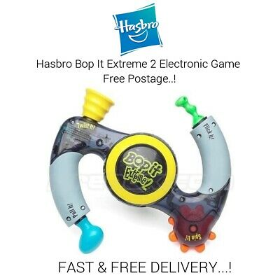 Hasbro Bop It Extreme 2 Electronic Handheld Game 2002 - Tested & Working  • 24.99£