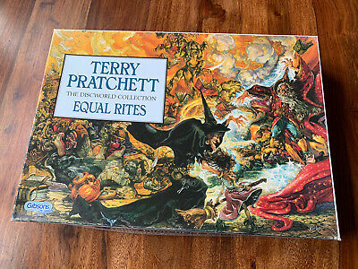 Gibsons 1000 Piece Jigsaw Puzzle - Terry Pratchett, Equal Rights • 3£