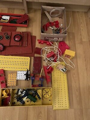 Meccano Job Lot Including Metal Cases • 35£