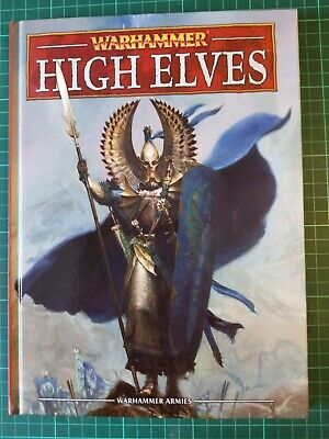 Warhammer Fantasy Battle Armies High Elves Army Book Codex 8th Edition High Elf • 15.30£