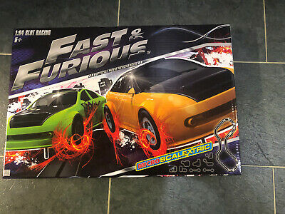 BNIB Micro Scalextric Set New Fast And Furious • 35£